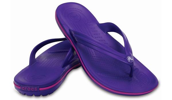 Crocband Flip, Ultraviolet/Vibrant Viola 4