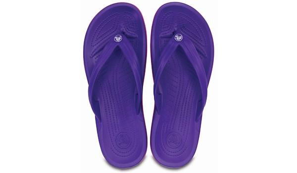 Crocband Flip, Ultraviolet/Vibrant Viola 6