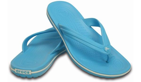 Crocband Flip, Electric Blue 4