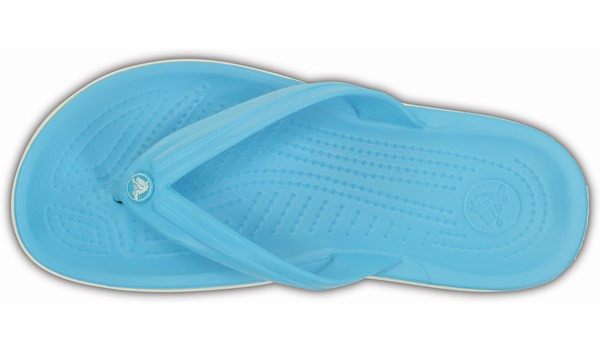 Crocband Flip, Electric Blue 6