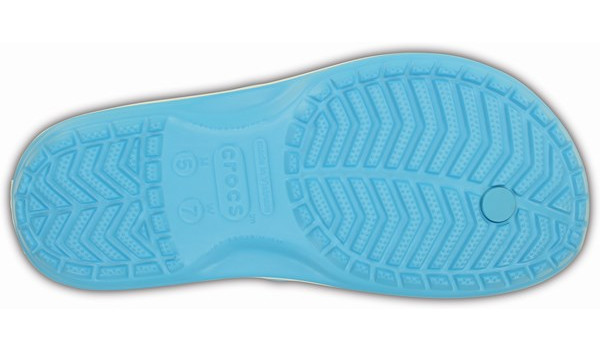 Crocband Flip, Electric Blue 3