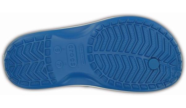 Crocband Flip, Ultramarine/White 3
