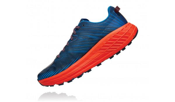 Speedgoat 4 Men, Blue/Red Orange 4