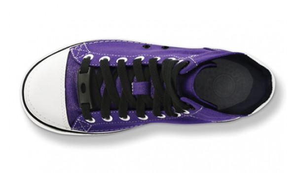 Kids Hover Sneak HiTop, Ultraviolet/Black 5