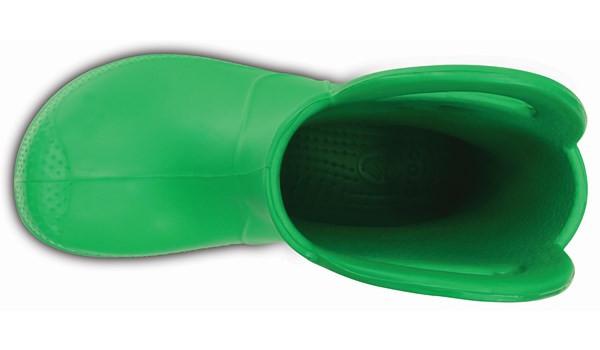 Kids Handle It Rain Boot, Grass Green 6
