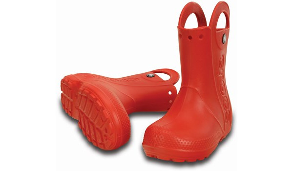 Kids Handle It Rain Boot, Flame 4