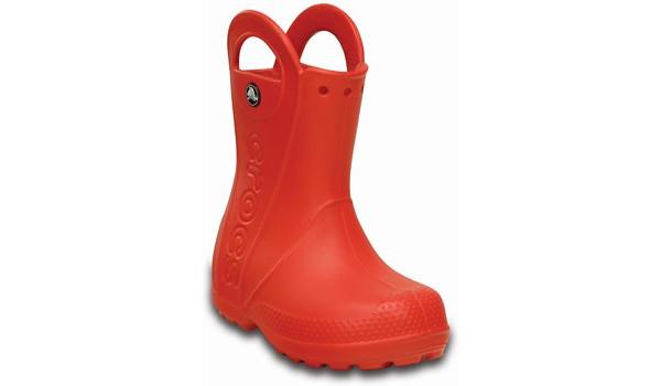 Kids Handle It Rain Boot, Flame 5
