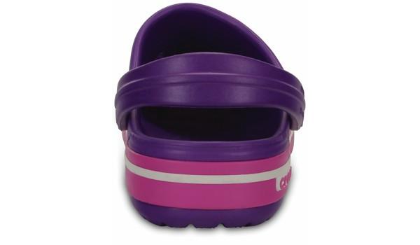 Kids Crocband 2.5 Clog, Neon Purple/Neon Magenta 2