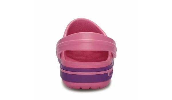 Kids Crocband 2.5 Clog, Pink Lemonade/Dahlia 2