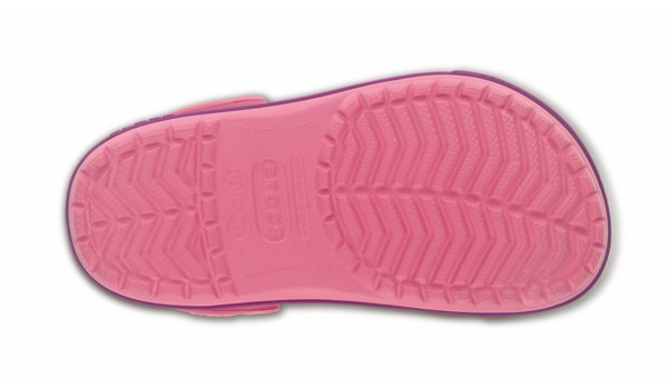Kids Crocband 2.5 Clog, Pink Lemonade/Dahlia 3