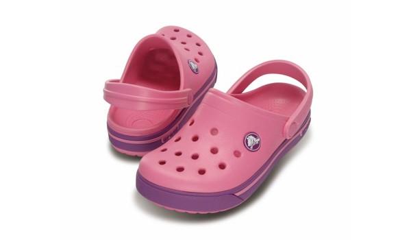 Kids Crocband 2.5 Clog, Pink Lemonade/Dahlia 4