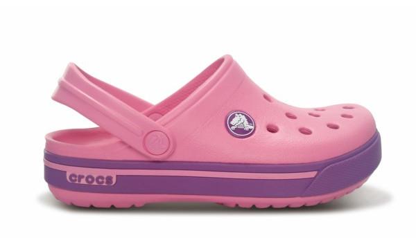 Kids Crocband 2.5 Clog, Pink Lemonade/Dahlia 1