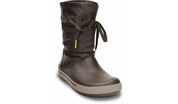 Crocband 2.5 Lace Boot, Espresso/Mushroom 5