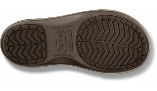 Crocband 2.5 Lace Boot, Espresso/Mushroom 4