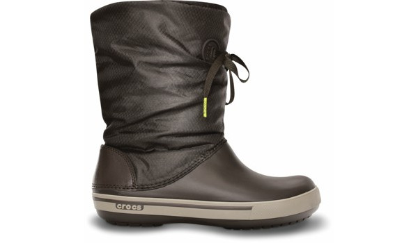 Crocband 2.5 Lace Boot, Espresso/Mushroom 1
