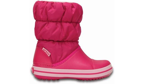 Kids Winter Puff Boot, Candy Pink 1