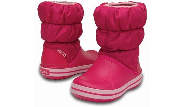 Kids Winter Puff Boot, Candy Pink 4