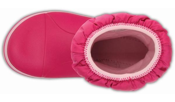 Kids Winter Puff Boot, Candy Pink 6
