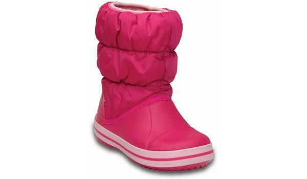 Kids Winter Puff Boot, Candy Pink 5