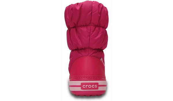 Kids Winter Puff Boot, Candy Pink 2