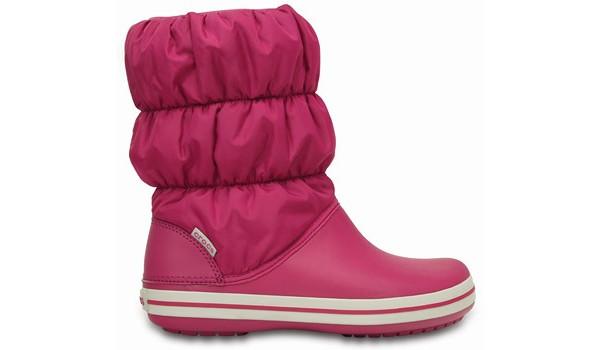 Winter Puff Boot, Berry 1