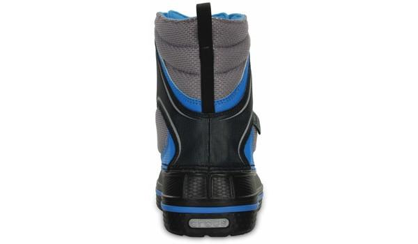 Kids AllCast Waterproof Boot, Black/Ocean 2
