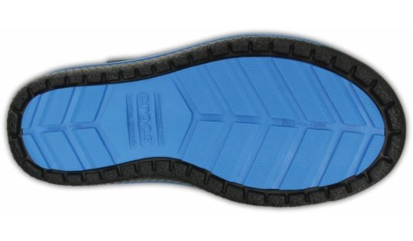 Kids AllCast Waterproof Boot, Black/Ocean 3