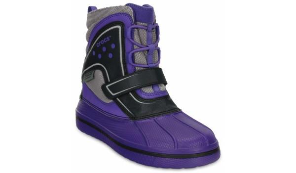 Kids AllCast Waterproof Boot, Ultraviolet/Black 5