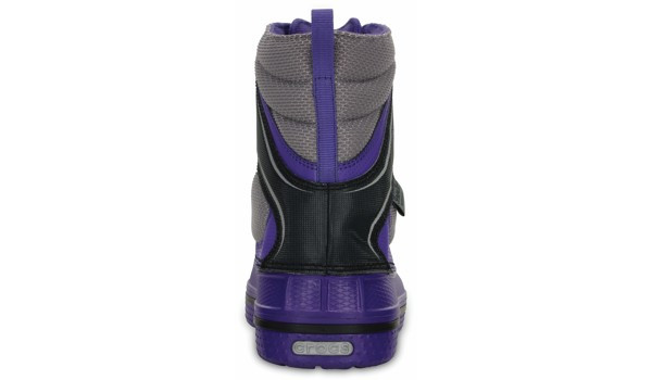 Kids AllCast Waterproof Boot, Ultraviolet/Black 2