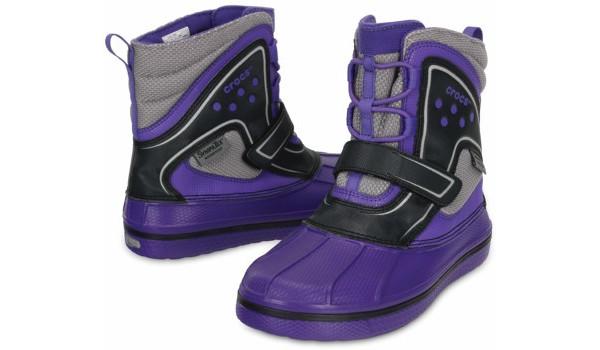 Kids AllCast Waterproof Boot, Ultraviolet/Black 4