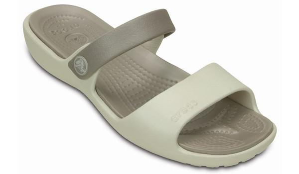 Coretta Sandal, Oyster/Platinum 5