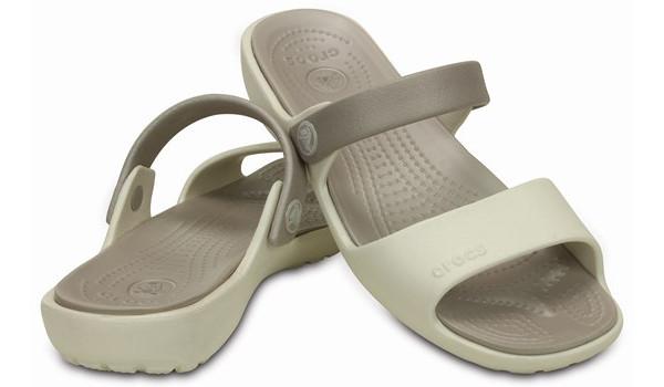 Coretta Sandal, Oyster/Platinum 4