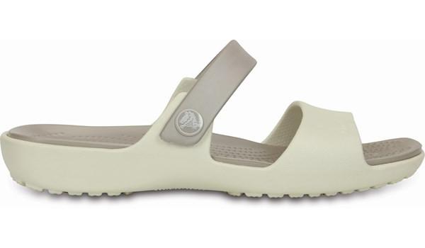 Coretta Sandal, Oyster/Platinum 1