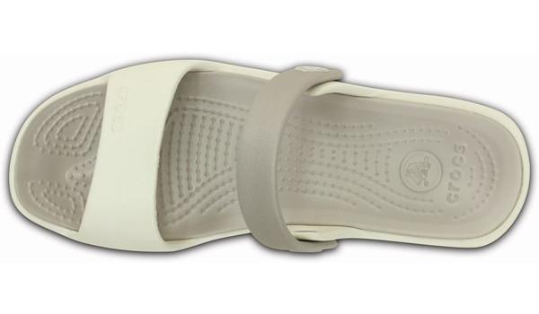 Coretta Sandal, Oyster/Platinum 6
