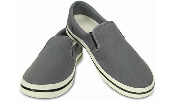 Norlin Slip-On, Charcoal/White 4