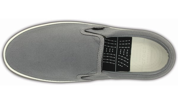 Norlin Slip-On, Charcoal/White 6