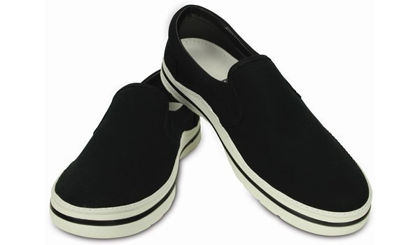 Norlin Slip-On, Black/White 3