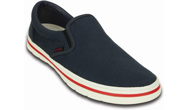 Norlin Slip-On, Navy/White 5