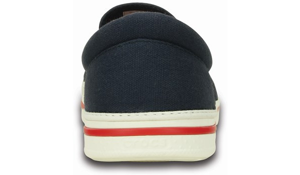 Norlin Slip-On, Navy/White 2