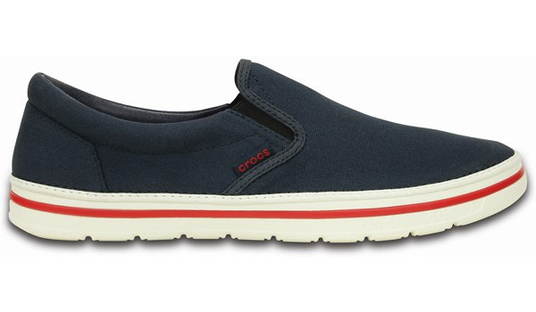 Norlin Slip-On, Navy/White 1
