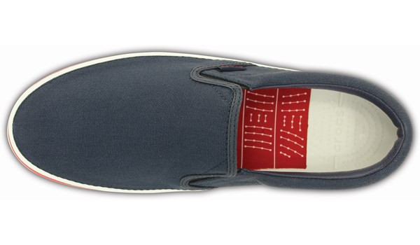 Norlin Slip-On, Navy/White 6
