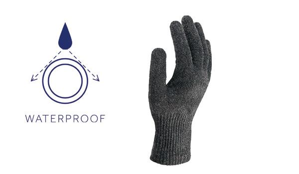 Spun Steel Glove, Grey 1