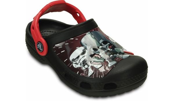 Kids Creative Crocs Star Wars Darth Vader Clog, Black 5