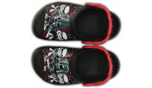 Kids Creative Crocs Star Wars Darth Vader Clog, Black 6
