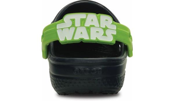 Kids Creative Crocs Star Wars Yoda Clog, Navy 2