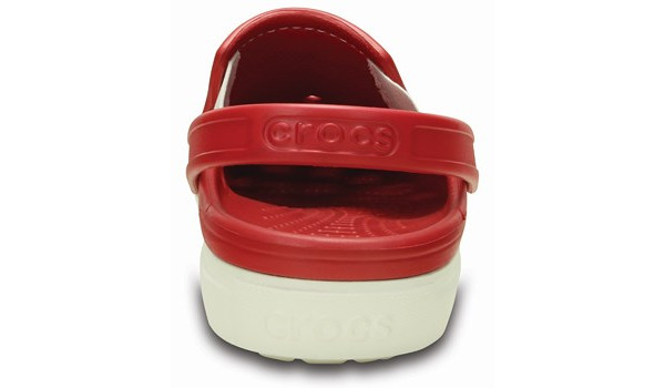 CitiLane Clog, Pepper/White 2