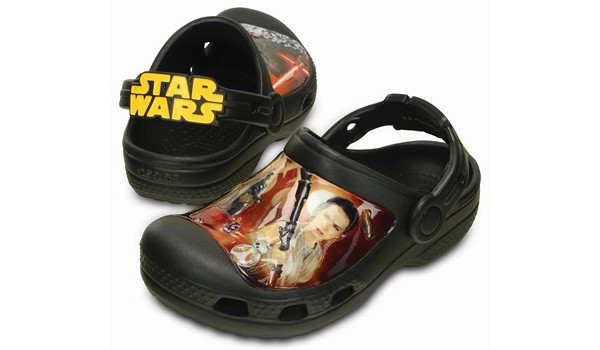 Kids Creative Crocs Star Wars Clog, Black 4