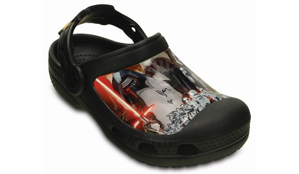 Kids Creative Crocs Star Wars Clog, Black 5