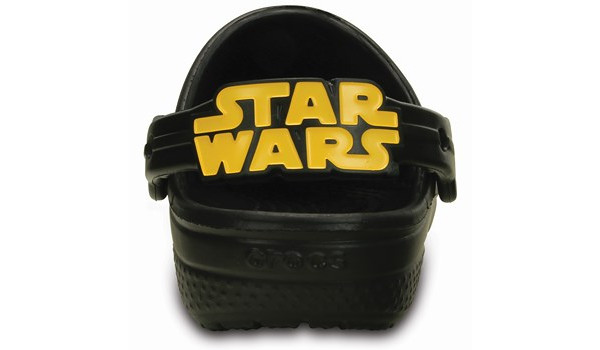 Kids Creative Crocs Star Wars Clog, Black 2
