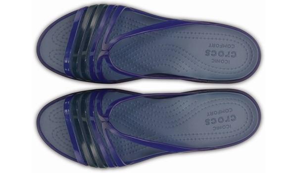 Isabella Mini Wedge, Cerulean Blue 6